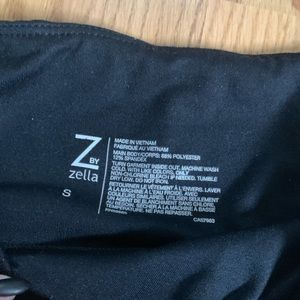 Zella Hugh waisted black leggings